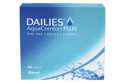 FOCUS DAILIES AQUA COMFORT PLUS  (90 бл./уп.) 1