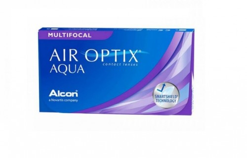 Alcon AIR OPTIX HydraGlyde MULTIFOCAL 1уп(3шт) + 1 в Подарок 1