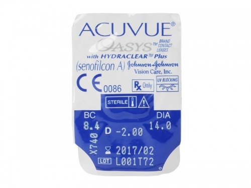 Johnson&Johnson Acuvue Oasys with Hydraclear Plus (1 шт-уп) 1
