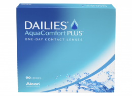 Alcon DAILIES AQUA COMFORT PLUS  (90 шт-уп)