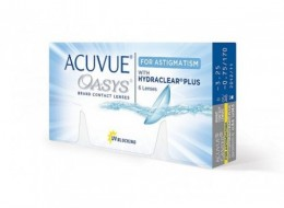Johnson&Johnson Acuvue Oasys for ASTIGMATISM  (6 шт-уп)