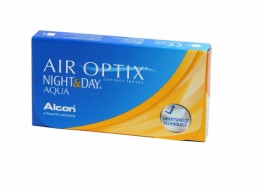 Alcon AIR OPTIX NIGHT& DAY AQUA (3 шт-уп)