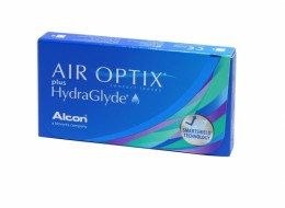 Alcon AIR OPTIX PLUS HYDRAGLYDE  (3 шт- уп)